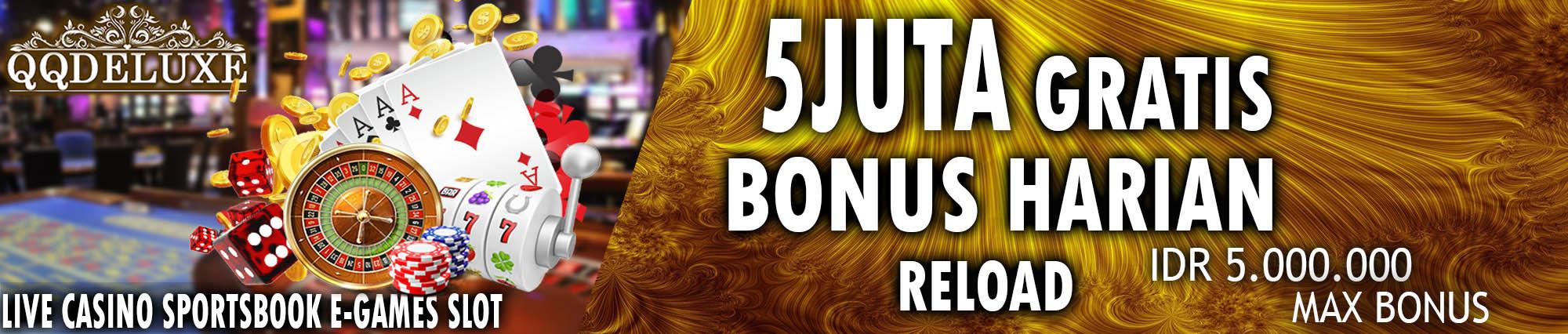 bonus judi online harian terbesar